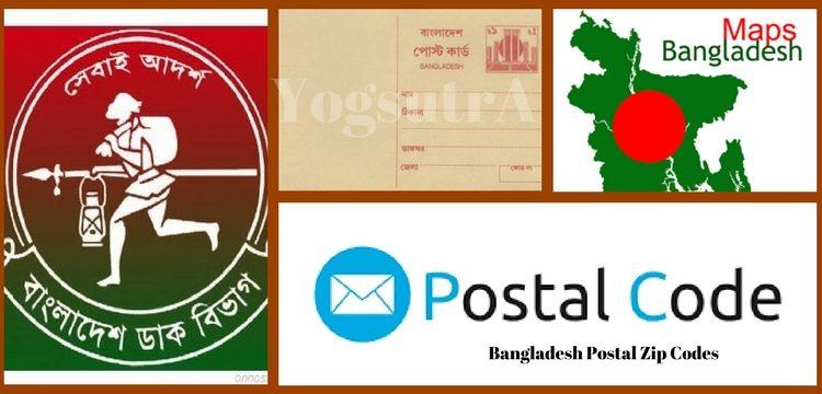 Bangladesh Postal Zip Codes