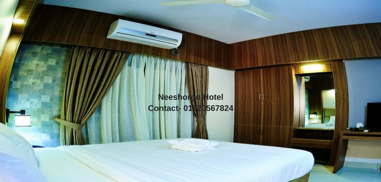 Hotel Neeshorgo Cox's Bazar Room