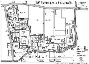 Location Bishwa Ijtema Tongi Turag Dhaka