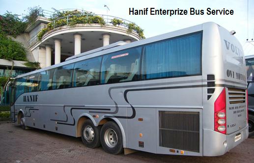 Hanif Paribahan Bus Services Bangladesh