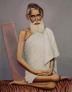 Famous yogic posture of Baba Loknath Brahmachari