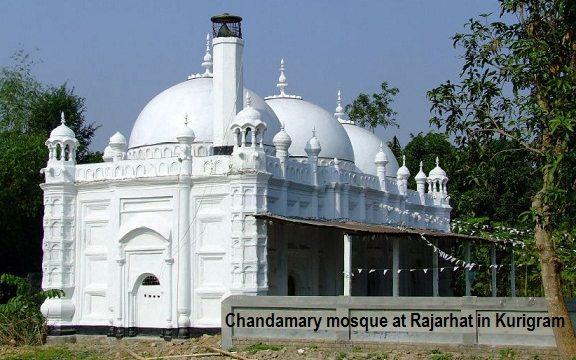 Chandamary mosque at Rajarhat in Kurigram
