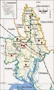 Feni Map