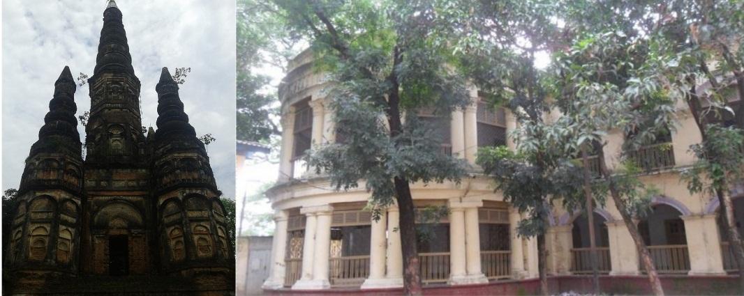 Bhawal Rajbari Is A Historical Tourist Place At Joydebpur