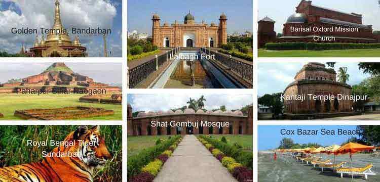 Bangladesh Top Tourist Spot