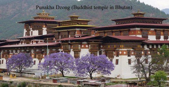 Punakha Dzong (Buddhist temple in Bhutan)